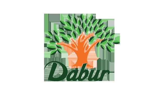 Logo of Dabur with growing tree